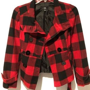 Buffalo Check gorgeous lined jacket by I.N.